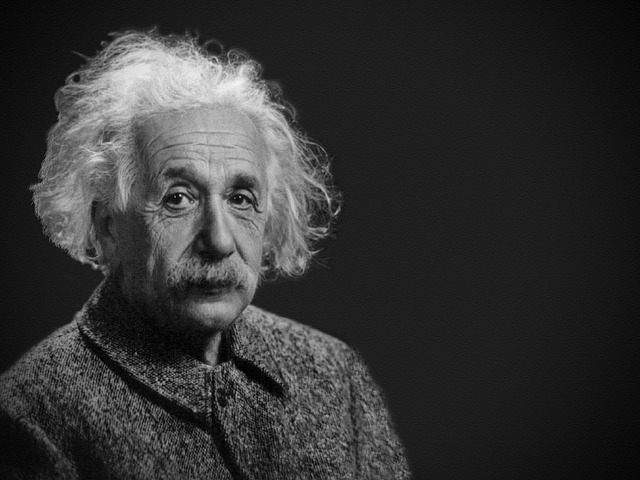 Albert Einstein's portrait
