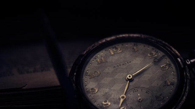 Old watch, symbolizing patience